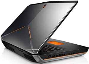 "Dell Alienware A18-1807 Ordinateur Portable 18,4"" (46,74 cm) Intel Core i7 4700MQ 4 GHz 830 Go 16384 Mo Dual 3 Go Nvidia GTX 770M Windows 8 Anodized Aluminium - Clavier Qwertz Allemand"