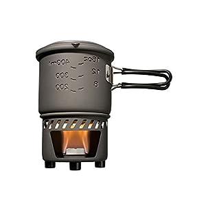 Esbit Trockenbrennstoff-Kochset CS585 HA – Kochtopfset mit Brenner