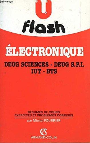 U flash, electronique, deug sciences, deug spi, iut, bts