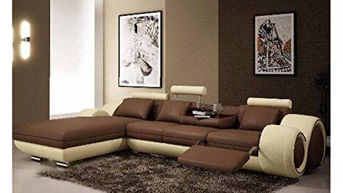 Canapé design méridienne Fresno