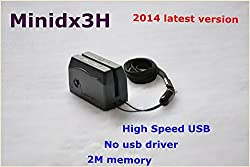 Smallest Mini Dx3H (No Usb Driver) Upgrade From Minidx3 Smallest Usb Magnetic Card Reader Small Magnetic Card Reader Encoder Data Collector