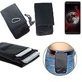 K-S-Trade belt bag/breast bag for Sharp Aquos B10, black.
