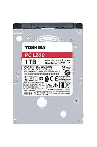 Toshiba L200 - Disco Duro 1 TB portátiles/PC 2.5