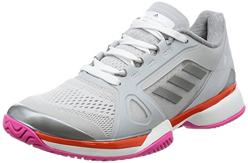 huge selection of 415c6 a16e9 adidas Asmc Barricade 2017, Zapatillas de Tenis para Mujer, Gris (Grpulg  Blanco
