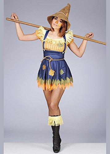 Erwachsene Damen Niedliche Vogelscheuche Kostüm XL (UK 18-20)