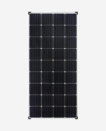 enjoysolar® Mono PERC 180 Watt Solar Modul 12V Solar Panel Monokristallines 180W mit PERC Zellen Wohnmobil, Gartenhäuse, Boot ...