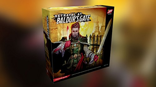 Avalon Hill / Wizards of the Coast C43100000 Betrayal at Baldur's Gate - Englisch, Brettspiel (City Party Karten)