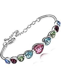 Lily Jewelry® Mujer    chapado en plata     cristal