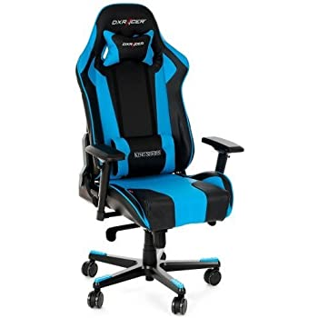 dxracer oh kf06 nb si ge gaming pour ordinateur noir bleu cuisine maison. Black Bedroom Furniture Sets. Home Design Ideas