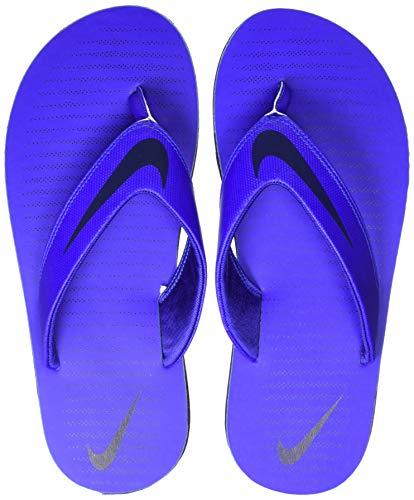 new styles 47b3a c9362 Nike Men's Chroma 5 RacerBlue/Obsidian Flip Flops Thong ...