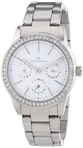 TOM TAILOR Damen-Armbanduhr Analog Quarz Edelstahl 5411802