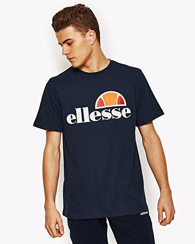ellesse Prado Herren-T-Shirt - Blau (Kleid blau) - Medium