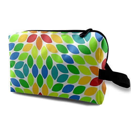 Kosmetiktaschen 05620781 R6R Objektiv 4 Rainbow_7318 Tragbare Reise Make-Up Veranstalter Multifunktions Fall Taschen für Frauen