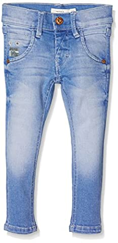 NAME IT NITTARZAN XSL/XLS DNM PANT NMT NOOS, Jeans Garçon, Bleu (Medium Blue Denim), 98