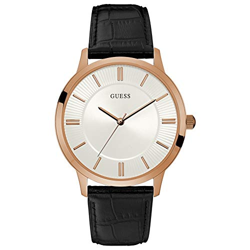Guess Analog White Dial Men's Watch