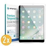 smartect Protector de Pantalla para iPad Air 10.5 2019 / iPad Pro 10.5 [2 Unidades] - 9H Cristal Templado - Diseño Ultrafino - Instalación Sin Burbujas - Anti-Huellas