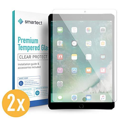 smartect Panzerglas für iPad Air 10.5 2019 / iPad Pro 10.5 [2 Stück] - Displayschutz mit 9H Härte - Blasenfreie Schutzfolie - Anti Fingerprint Panzerglasfolie