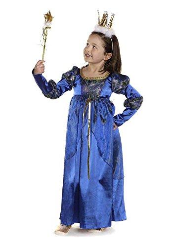 Trullala Maid-Marion-Kleid, Kinderfaschingskostüm Größe: M (4-6 - Maid Marion Kostüm Kinder