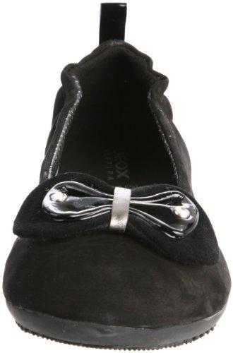 GEOX Junior Mädchen Ballerina ANTHEA Black J1398A 00032 C9999 Black