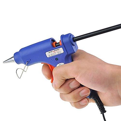 Sstone Gute 20W Heißklebepistole for hohe Temperaturen, AC 100V-240V (S-E), Kabellänge: ca.1,4 m (blau)