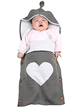 Neugeborenes Baby Swaddle Decke, Swaddle Wrap Decke für Babys, Gozing große Swaddle Soft Unisex für 0-12 Monate...