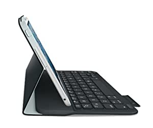 Logitech Ultrathin Keyboard Folio Case for iPad Mini 1, 2, 3 Black - UK QWERTY Layout