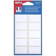 AGIPA Etiquettes multifonctions 20 x 32 mm blanches Sachet de 70
