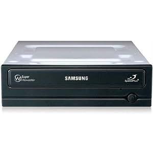 Samsung  22x SATA DVD Writer - Black (Bare Drive Only)