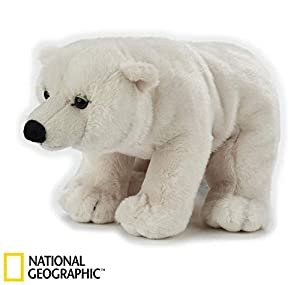 Venturelli Peluche Oso Polar Animal Bosque Peluches Juguete 596, Multicolor, 8004332708421