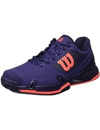Wilson Wrs323040e065, Chaussures de Tennis Femme, Multicolore (Multicolor / Astral Aura / Evening Blue / Fiery Cora), 40 1/3 EU
