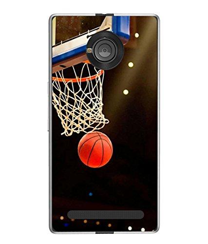 PrintVisa Designer Back Case Cover for YU Yuphoria (Basket ball net close view)