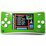 Hisonders RS-1 Handheld Game Console, 2.5 Inch Classic Electric 152 Games Player (152-Green)