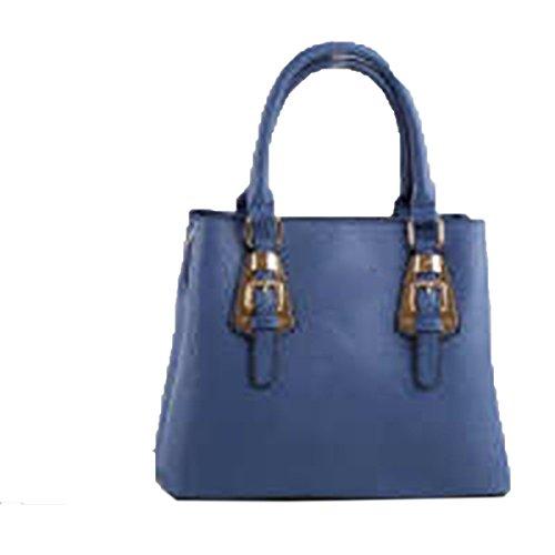 WU Zhi Signore Unità Di Elaborazione Borse Spalla Messenger Bag Blue