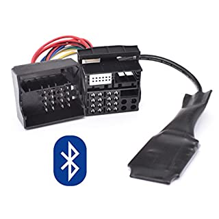 Bluetooth Musik Adapter geeignet für BMW E39 E53 X5 Z4 E83 X3 Flachpin 40pin Quadlock New Generation Radio