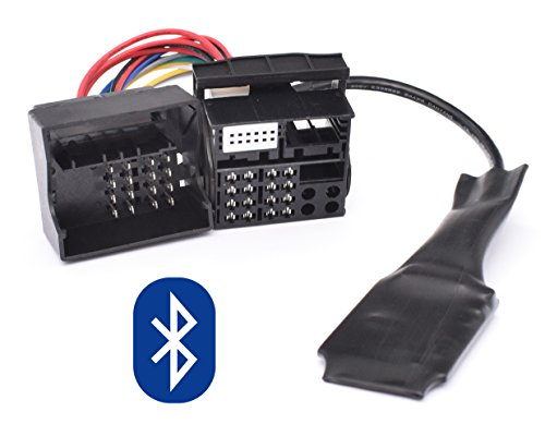Kassette Bluetooth-adapter (Bluetooth Musik Adapter für BMW E39 E53 X5 Z4 E83 X3 Flachpin 40pin Quadlock New Generation Radio)