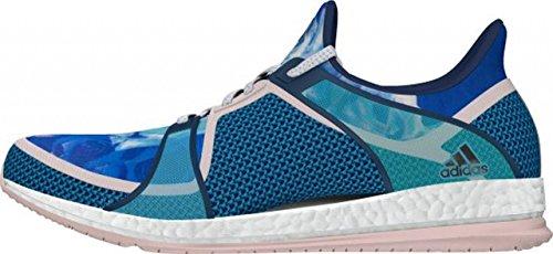 adidas Pure Boost X TR W, Chaussures de Running Entrainement Femme, Rose Bleu (bleu minéral / bleu brillant / rose halo)