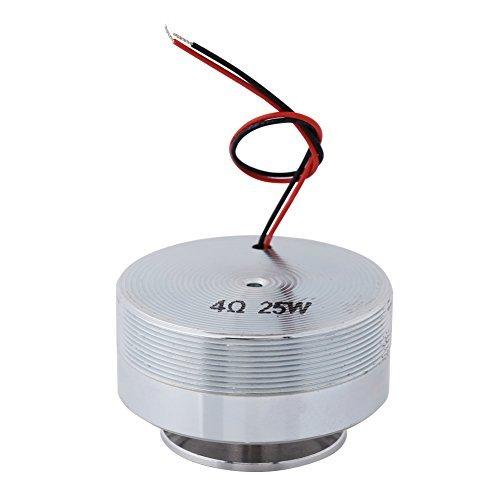 1 Pcs 50 MM 2'' Haut-Parleur de résonance, Haut-Parleur résonnant de Tout fréquence, Vibration Strong Bass Haut-Parleur(4Ω, 25W)