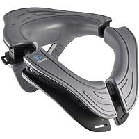 Moveo Dynamic - Collarín cervical de ciclismo unisex, color gris