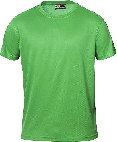 Herren Funktions T-Shirt aus Polyester von CLIQUE. Das T-Shirt für den Sport, perforiert und feuchtigkeitsabführend in 10 Farben S M L XL XXL XXXL XXXXL (Apfelgrün, XXL) von noTrash2003®