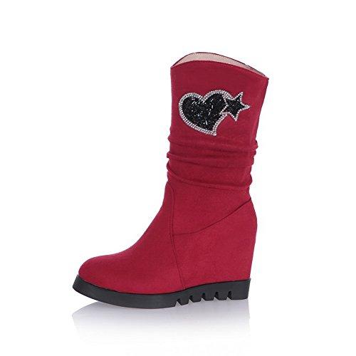 BalaMasa - Pantofole a Stivaletto donna Red