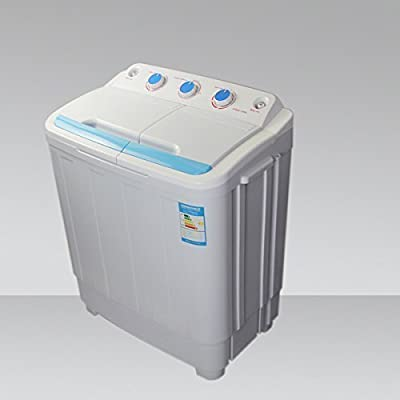 Leisure Direct Twin Portable 230v 4.6kg Washing Machine For Boats Rv Spin Dryer by LEISURE DIRECT ®