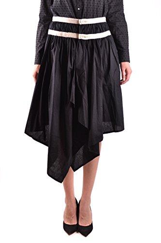 adidas Y-3 Yohji Yamamoto Women's MCBI317088O Black Cotton Skirt
