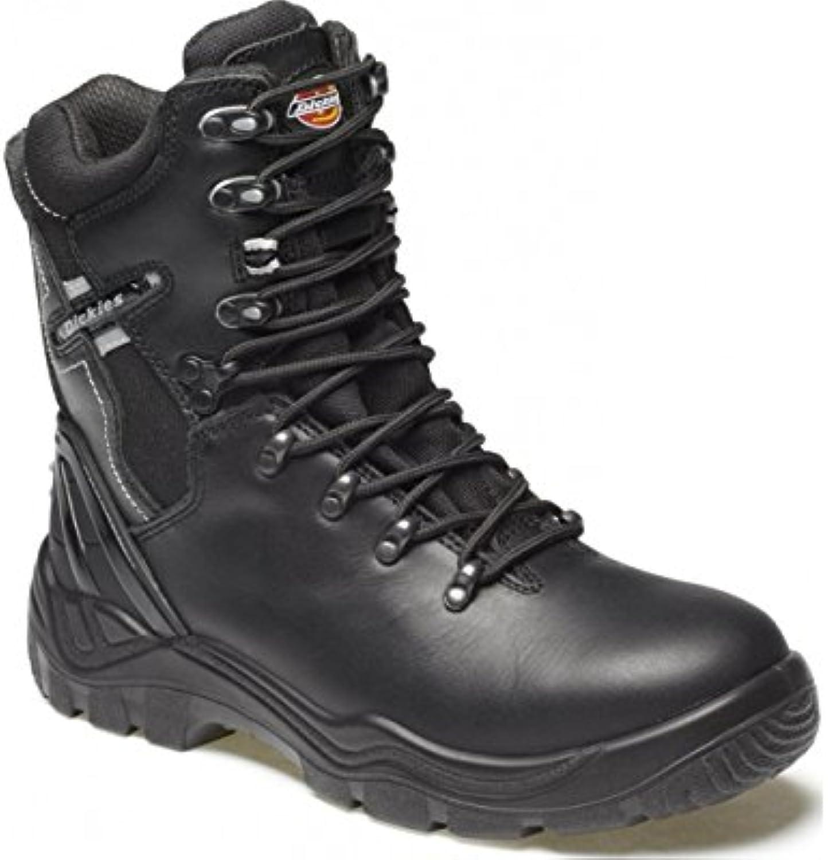 Dickies FD23376 – 7 Quebec sfoderato scarpa di sicurezza, taglia 7, nero | Elevata Sicurezza  | Uomo/Donna Scarpa