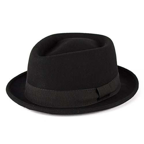 black-100-wool-diamond-shaped-pork-pie-hat-with-grosgrain-band-handmade-in-italy