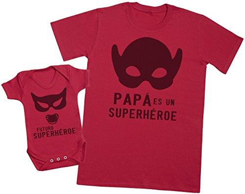 Futuro Superhéroe & Papá Girl - Regalo Padres bebés