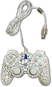 BigPlayer USB Gamepad with Dual Vibration (White) (MST-1328)