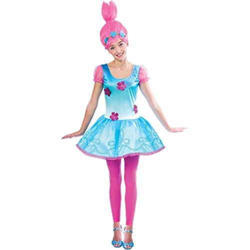 Amscan Poppy Trolls Kinder Kostüm -