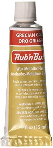 Amaco Rub 'n Buff, Grecian Gold - Amaco Rub