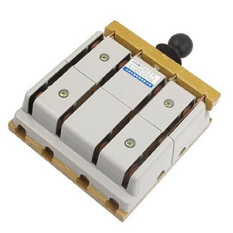 Interrupteur 4 Poles - 380V 100A 4 Pôles inverseur électrique Frein