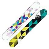 Firefly Spheric Damen Snowboard weiss/lila/grün + Firefly A5.5 Bindung schwarz